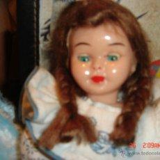 Muñecas Modernas: PRECIOSA MUÑEQUITA DE CELULOIDE, CON UN VESTIDO MUY BONITO, AÑOS 80 20 CTMS.. Lote 40038434