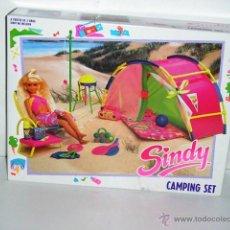 Muñecas Modernas: SINDY CAMPING SET ANTIGUO ACCESORIO MUÑECA HASBRO - ARTICULO NUEVO. Lote 40294588