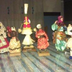 Muñecas Modernas: LOTE DE 6 MUÑECAS DEL MUNDO (LIBANO, CUBA...). Lote 40393271