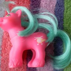 Muñecas Modernas: MY LITTLE PEQUEÑO PONY G1 BABY WHIRLY TWIRL 87 HELICOPTER HONG KONG. Lote 80379402