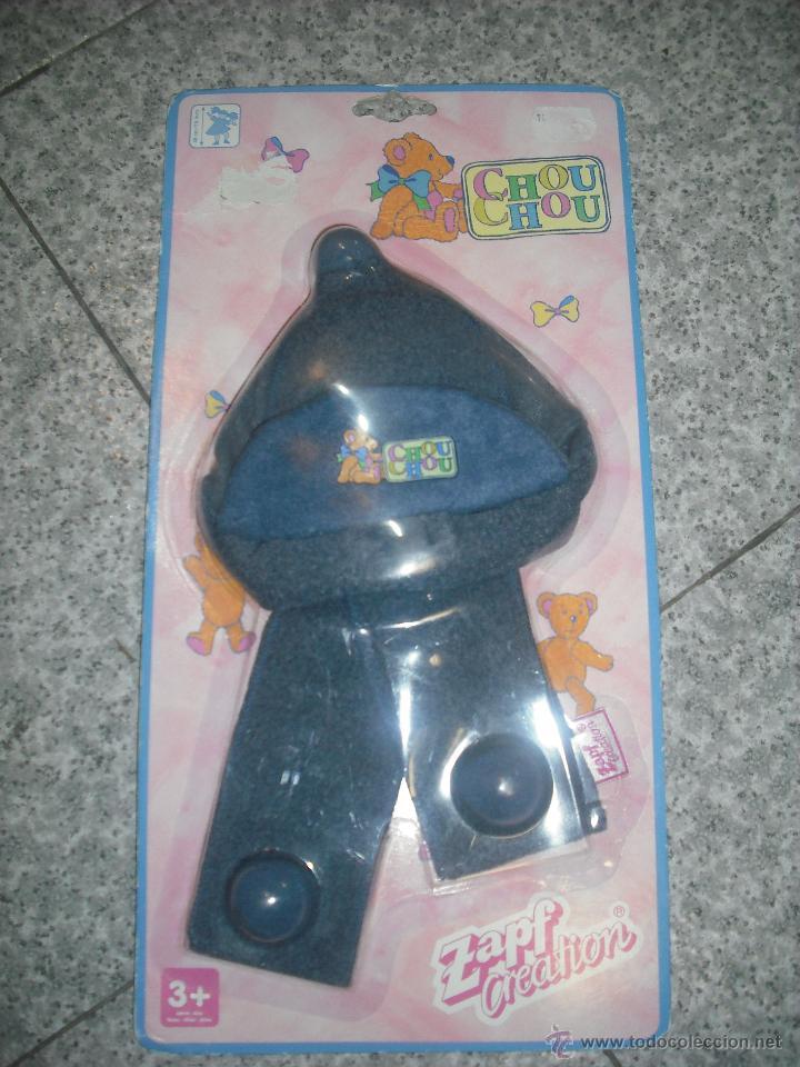 Muñecas Modernas: Gorrito para Little Chou Chou - Nuevo en su Blister de Zapf Creation - Descatalogado - Foto 3 - 41731480