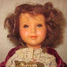 Muñecas Modernas - MUÑECA MADE IN FRANCE,CELULOIDE,VESTIDA DE TERCIOPELO,AÑOS 60 - 42307221