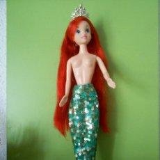 Muñecas Modernas: PRINCESA DISNEY ARIEL, LA SIRENITA DE SIMBA. Lote 57320597