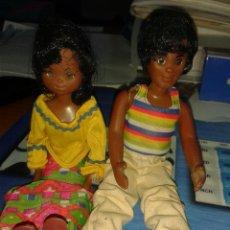 Muñecas Modernas: FAMILIA FELIZ PADRES VERSION NEGRA MATTEL . Lote 42596029