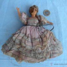 Muñecas Modernas: ANTIGUA MUÑECA DE CELULOIDE VESTIDA .. Lote 43421060