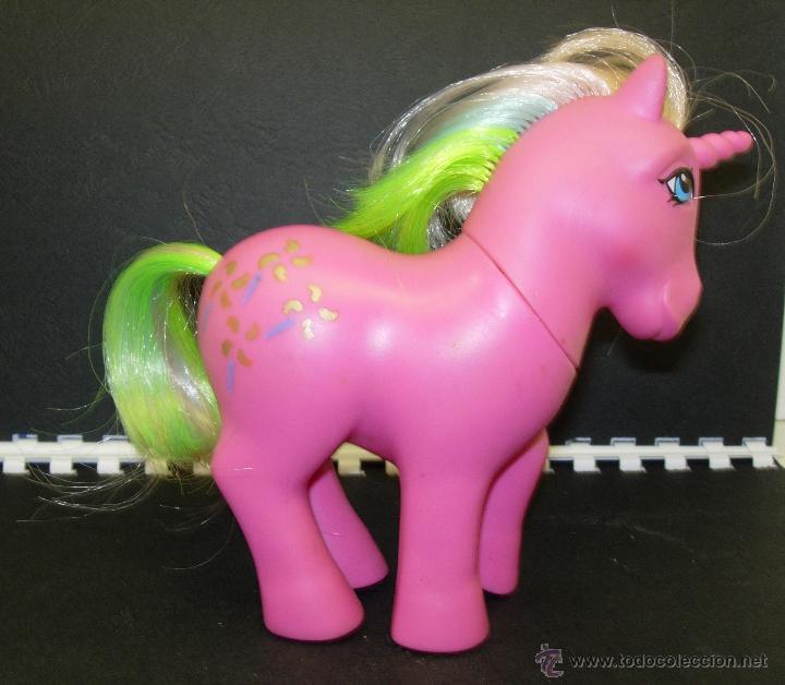 Muñecas Modernas: Mi pequeño pony My Little Pony unicornio PINWHEEL MOLINILLO ESPAÑA 1986 HASBRO MADE IN SPAIN - Foto 3 - 43881222
