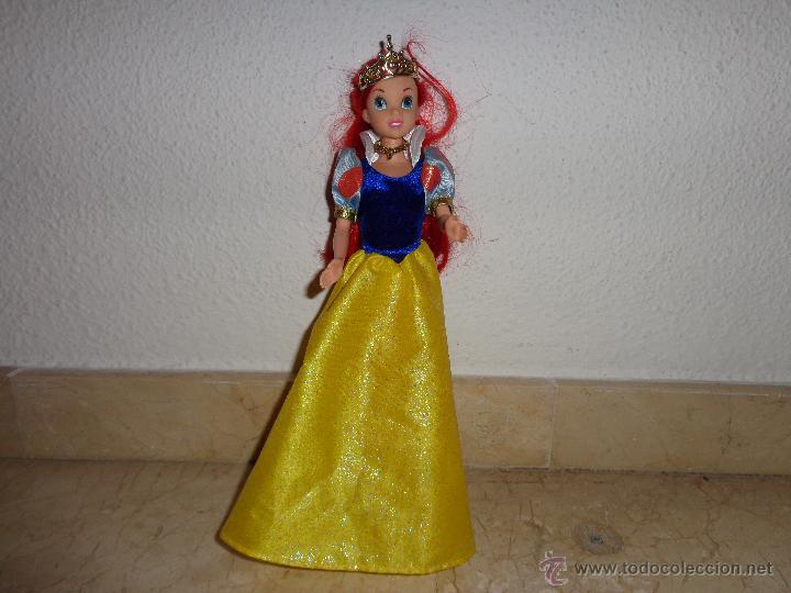 Muñecas Modernas: DISNEY - BONITA MUÑECA PRINCESA ARIEL DISNEY EN MUY BUEN ESTADO GENERAL, 111-1 - Foto 8 - 44009543