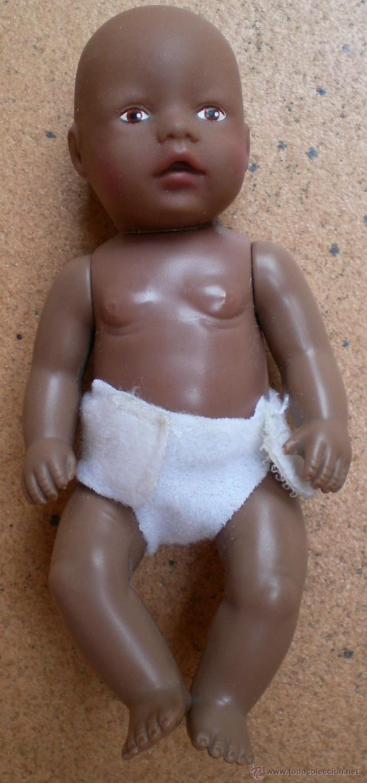 MUÑECO NEGRO MINI BABY BORN DE ZAPF, 11 CM (Juguetes - Muñeca Extranjera Moderna - Otras Muñecas)