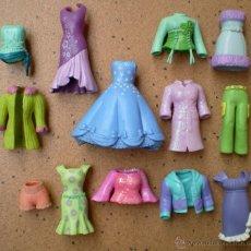 Muñecas Modernas: LOTE ROPA DE GOMA MUÑECAS POLLY POCKET. Lote 104859459