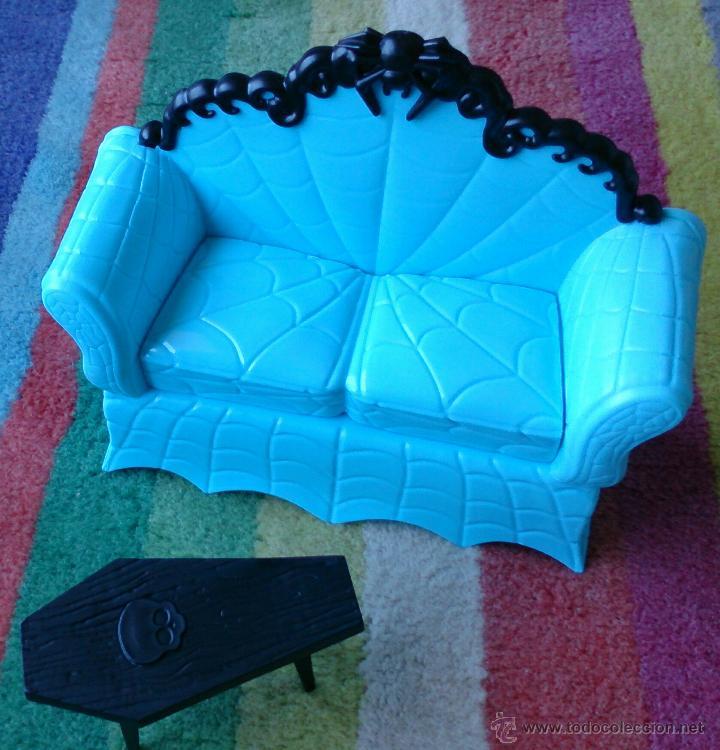 sofá color turquesa y mesa baja original muñeca - Comprar Otras ...