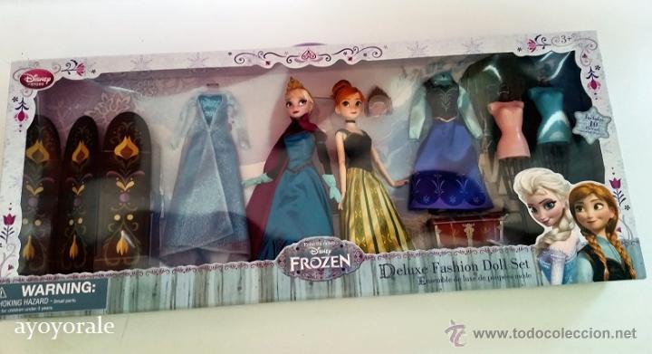 Pack Muñecas Frozen Coronación De Disney Anna Sold Through Direct Sale 45735490