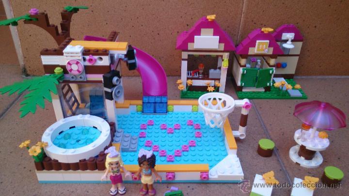 Mu ecas lego friends 41008 miniatura con pisci comprar - Lego friends piscina ...