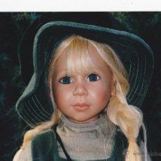Muñecas Modernas: EVA MUÑECA DE ARTISTA JOKE GROBBEN PARA GOTZ EDICIÓN LIMITADA 349/1000. Lote 46628162