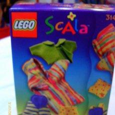 Muñecas Modernas: LEGO SCALA.COMPLEMENTOS ROPITA BEBE REF.3141.AÑO 1999.NUEVO EN CAJA SELLADA DE FÁBRICA.. Lote 270958998