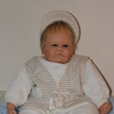 Muñecas Modernas: BEBE OOAK, PIEZA ÚNICA, ARTISTA: DIDI JACOBSEN, PERFECTO ESTADO. Lote 47879302