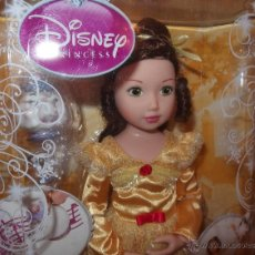 Muñecas Modernas: PRINCESA BELLA,DISNEY PRINCESS,ZAPF CREATION,2010,CAJA ORIGINAL,A ESTRENAR. Lote 89626658
