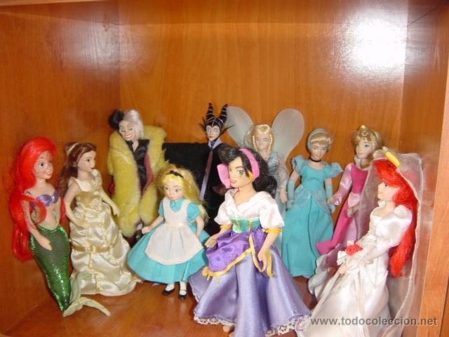 MUÑECAS PRINCESAS DISNEY (Juguetes - Muñeca Extranjera Moderna - Otras Muñecas)