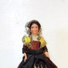 Muñecas Modernas: MUÑECA SNT FLOUR, FRANCIA. MIDE 14CM DE ALTURA TOTAL. VER DESCRIPCION.. Lote 48657331