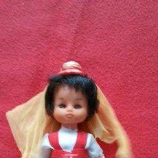 Muñecas Modernas: ANTIGUA MUÑECA TRAJE REGIONAL 18CM. Lote 48696724