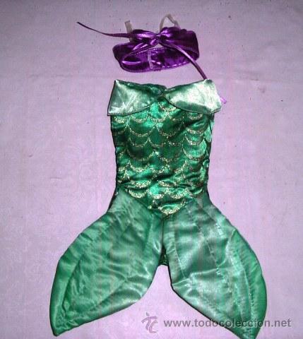 Vestido Animators Muñeca Ariel La Sirenita Di Vendu En