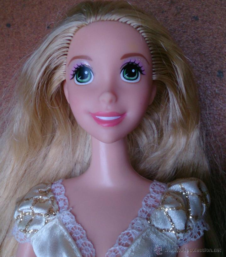 Muñecas Modernas: Muñeca Rapunzel con vestido de novia, princesas Disney - Foto 2 - 50173196