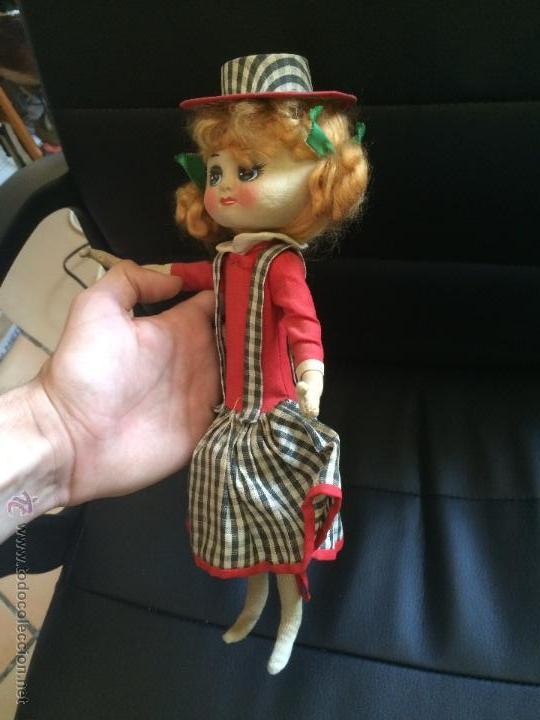 Muñecas Modernas: Antigua muñeca de trapo original sin manipular parecida a a jessie y woody de toy story. años 50 - Foto 2 - 50261293