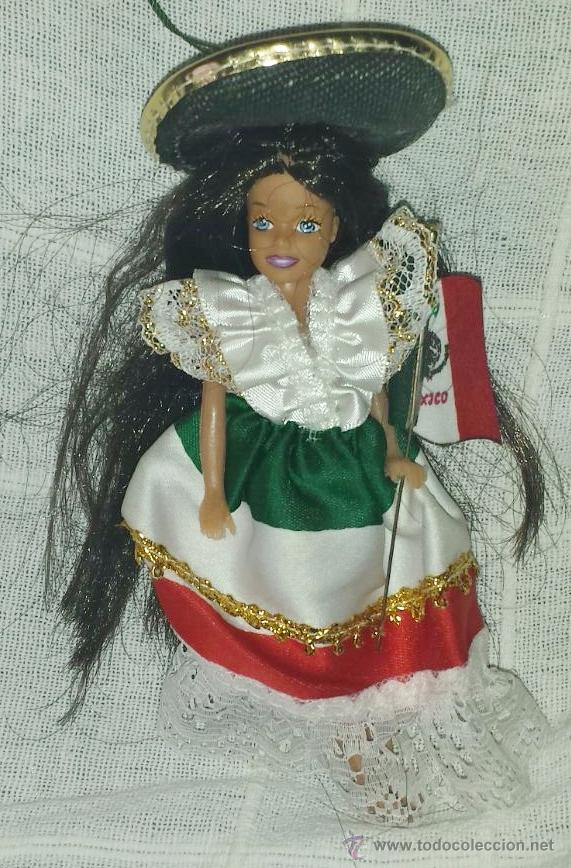 MUÑECA MEXICANA PARA COLGAR (Juguetes - Muñeca Extranjera Moderna - Otras Muñecas)
