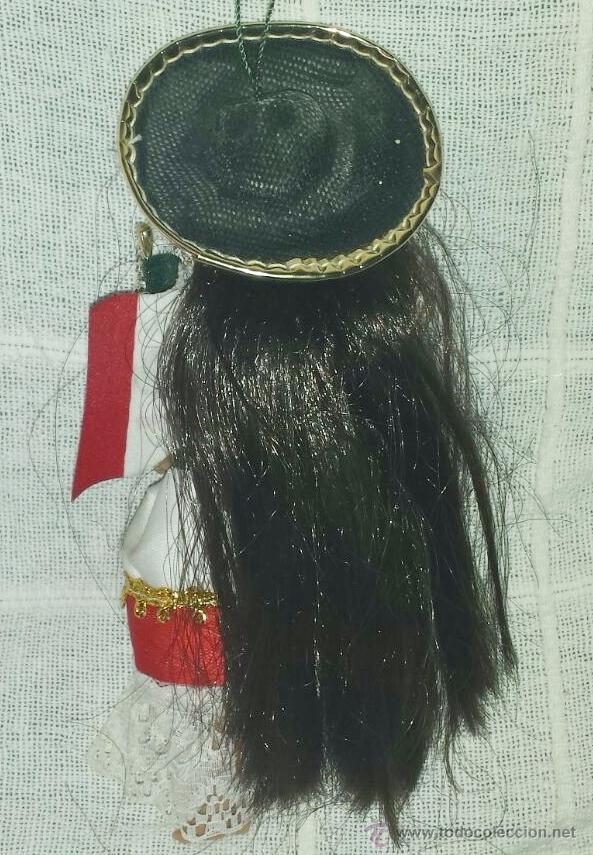 Muñecas Modernas: Muñeca mexicana para colgar - Foto 2 - 51426267
