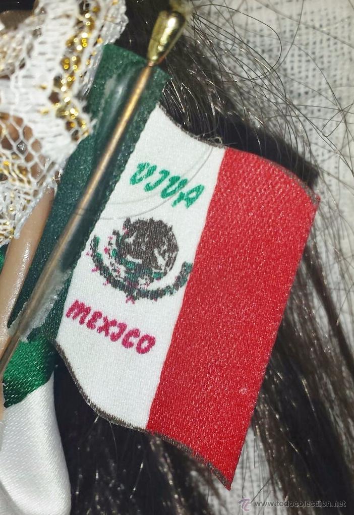 Muñecas Modernas: Muñeca mexicana para colgar - Foto 3 - 51426267