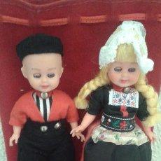 Muñecas Modernas: PAREJA DE MUÑECOS HOLANDESES. Lote 51505678