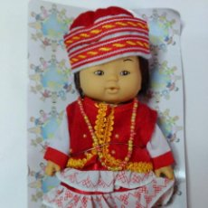 Muñecas Modernas: MUÑECA CON TRAJE TIPICO. Lote 52221463