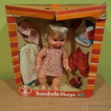 Muñecas Modernas: MUÑECA BOMBOLE DE FURGA. ITALIANA. AÑOS 70-80. Lote 54002930