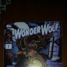 Muñecas Modernas: DIARIO MONSTER HIGH WONDER WOLF. Lote 54270919