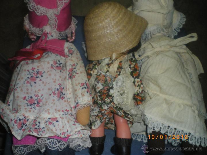 Muñecas Modernas: 3 MUÑECAS FRANCESAS AÑOS 70-80 - Foto 2 - 54419343