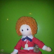 Muñecas Modernas: MUÑECA DE TRAPO KNICKERBOCKER AMERICANA ANNIE 1977. Lote 54657564