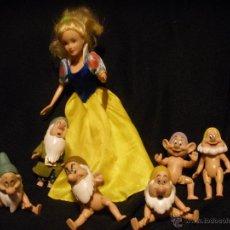 Muñecas Modernas: LOTE , ENANITOS Y BLANCANIEVES, SIMBA ,DISNEY . Lote 54914356
