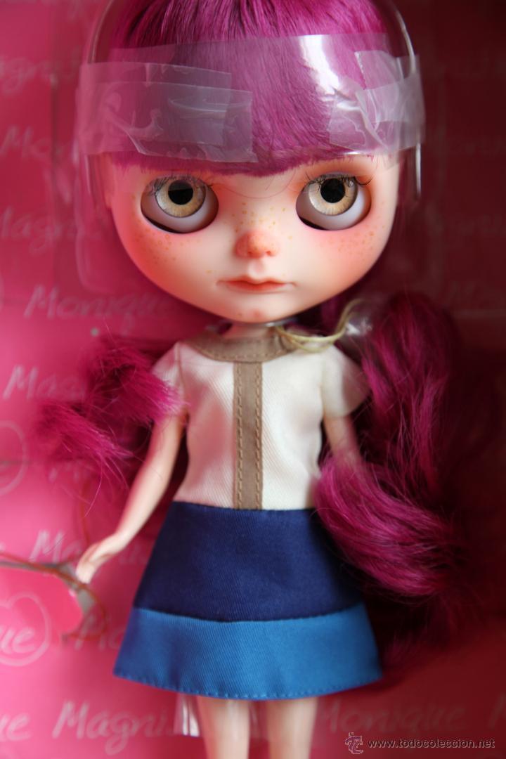 Muñecas Modernas: Preciosa y original OOAK Blythe art doll customizada y única con 2 vestidos y caja - Foto 8 - 55012841