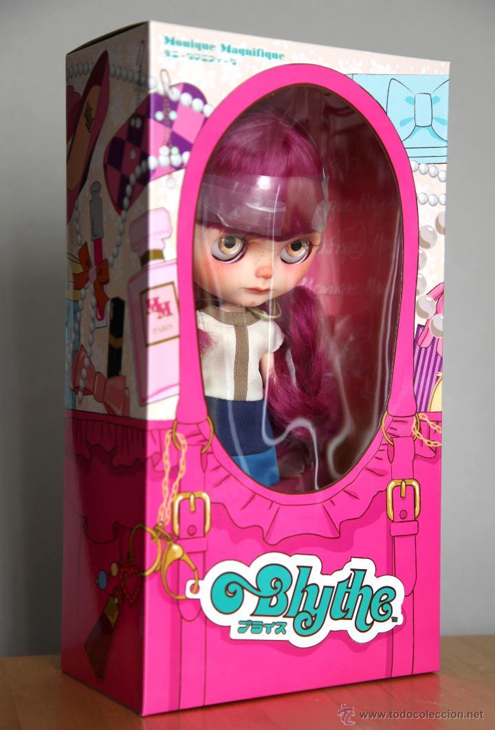 Muñecas Modernas: Preciosa y original OOAK Blythe art doll customizada y única con 2 vestidos y caja - Foto 12 - 55012841