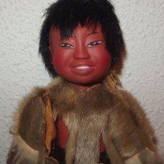 Muñecas Modernas: MUÑECO INUIT,ESQUIMAL,RELIABLE,CANADÁ,AÑO 1967. Lote 231732420