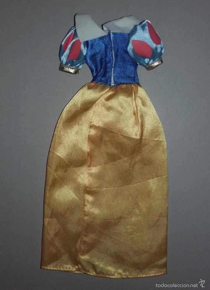 Muñecas Modernas: VESTIDO PARA BARBIE MUÑECA BLANCANIEVES DE DISNEY - Foto 2 - 56044521