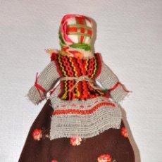 Muñecas Modernas: MUÑECA LA BRUJA 2 UCRANIANA CON TRAJE TRADICIONAL .HECHA A MANO .. Lote 56489124