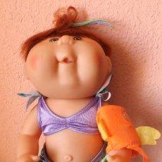 Muñecas Modernas: REPOLLO DE MATTEL CPK NADADORA MODELO CB21 VESTIDA DE ORIGEN SELLO Y FIRMA. Lote 56667015