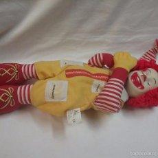 Muñecas Modernas: ANTIGUO MUÑECO FIGURA RONALD MCDONALD AÑO 1998 CON SONIDO . Lote 57560475