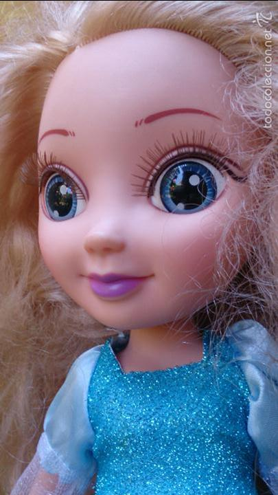 Muñecas Modernas: Muñeca princesa Elsa Frozen - Foto 5 - 58111156