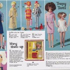 Muñecas Modernas: COLECCIONISTAS!!..RARA TRESSY MANIQUÍ INGLESA MODELO MARY MAKE-UP AÑOS 60/70 ROPITA ORIGINAL. Lote 58629732