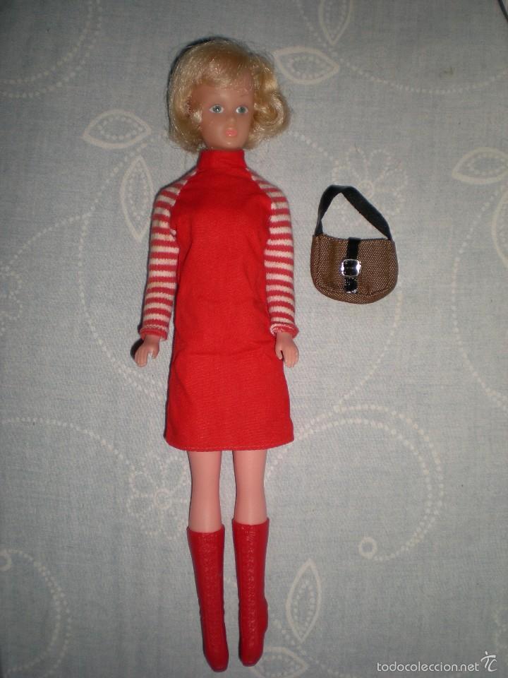 Muñecas Modernas: coleccionistas!!..rara tressy maniquí inglesa modelo mary make-up años 60/70 ropita original - Foto 6 - 58629732