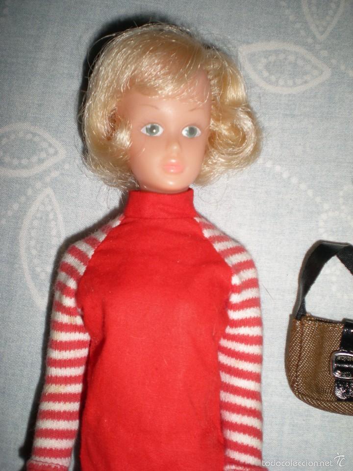 Muñecas Modernas: coleccionistas!!..rara tressy maniquí inglesa modelo mary make-up años 60/70 ropita original - Foto 7 - 58629732