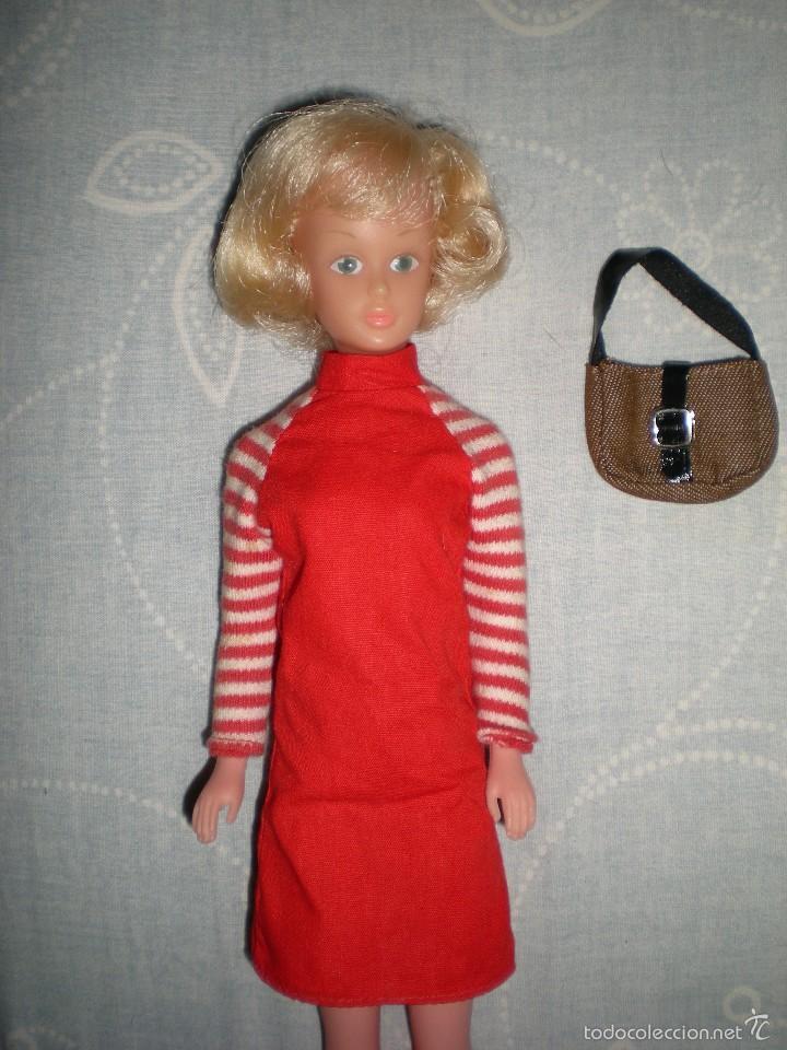 Muñecas Modernas: coleccionistas!!..rara tressy maniquí inglesa modelo mary make-up años 60/70 ropita original - Foto 9 - 58629732