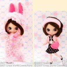 Muñecas Modernas - MUÑECA MINI BLYTHE, JAPONESA, Petite Takara Blythe Doll Honey Bunny Anchor - 58940295
