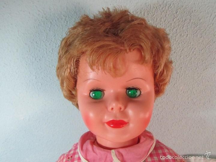 Muñecas Modernas: Gran muñeca americana andadora Uneeda 36-23, 36-T, 90 centímetros de altura - Foto 3 - 60639323